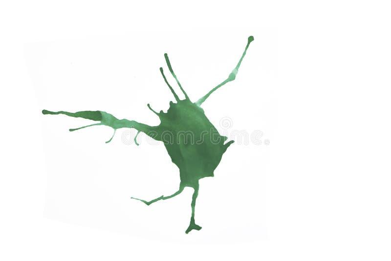 Абстрактный цветной сплашат стоковая фотография rf