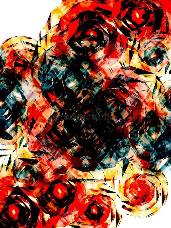 абстрактный цветок 2 бесплатная иллюстрация