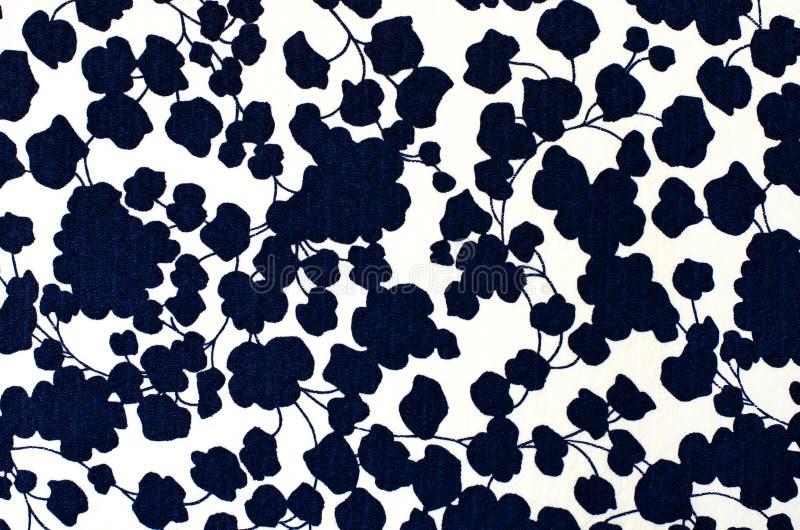 Абстрактный цветочный узор на ткани бесплатная иллюстрация
