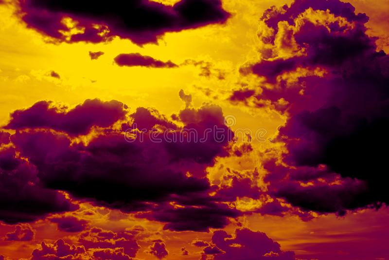 Абстрактный цвет предпосылки облаков стоковое фото rf