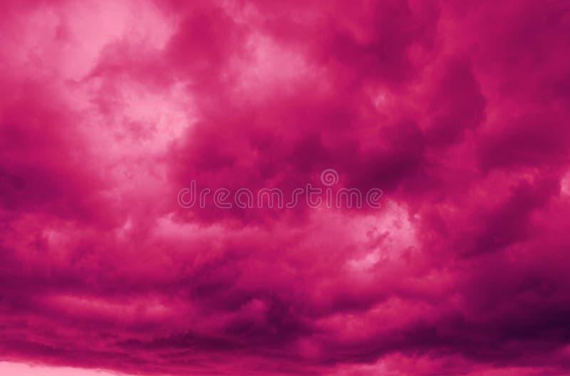 Абстрактный цвет предпосылки облаков стоковая фотография rf