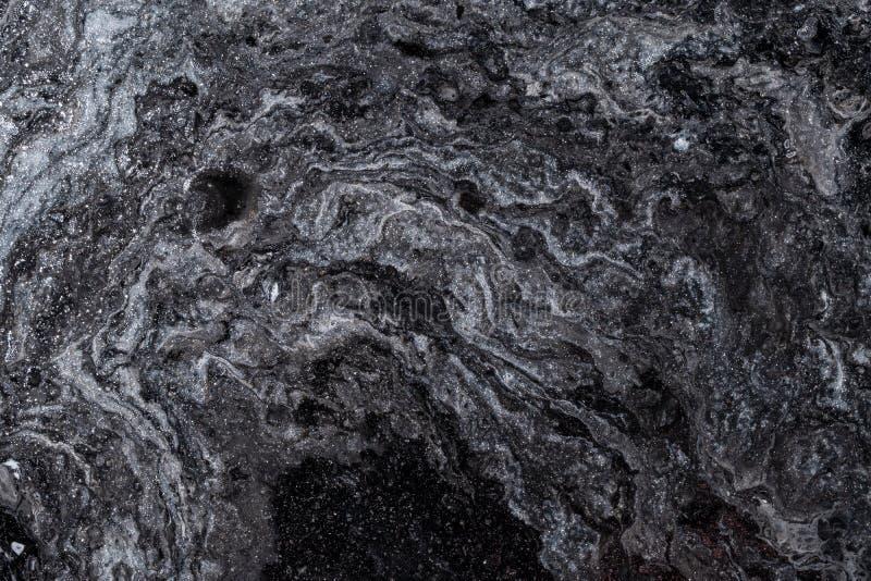 Абстрактный цвет фона из-за закрытия разлитых красок стоковая фотография