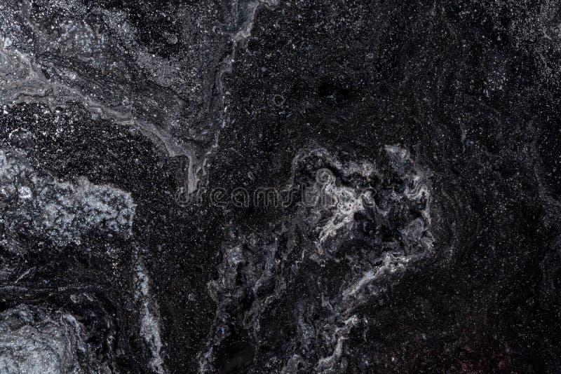 Абстрактный цвет фона из-за закрытия разлитых красок стоковое изображение