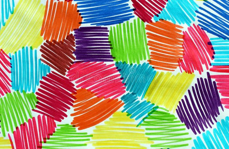 Абстрактный чертеж отметки стоковое фото
