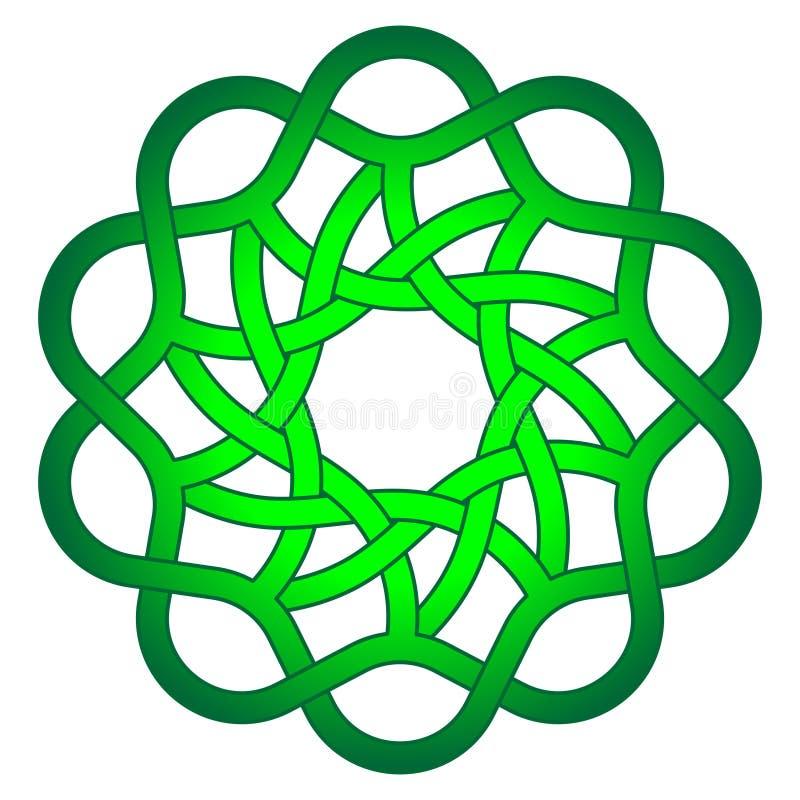 Абстрактный шаблон дизайна для декоративного дизайна Флористическая граница r Этническое конспекта орнаментальное декоративное иллюстрация штока