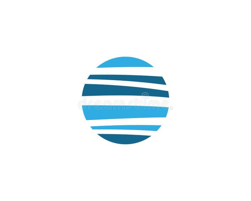 Абстрактный шаблон логотипа иллюстрация штока