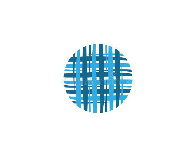 Абстрактный шаблон логотипа бесплатная иллюстрация