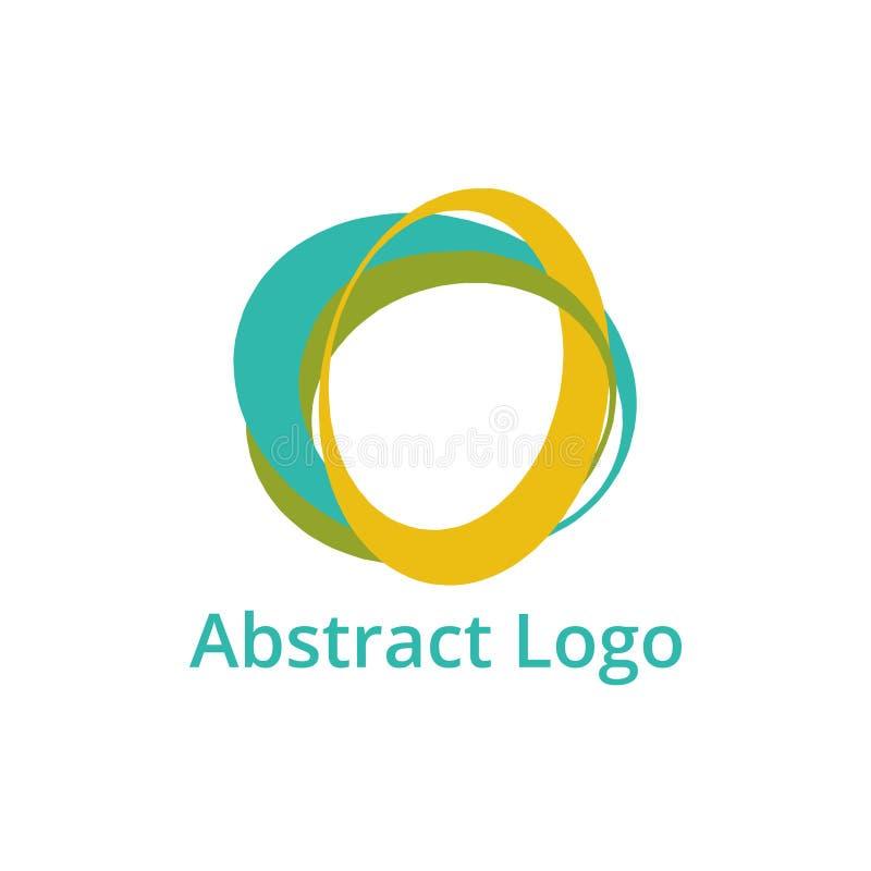 Абстрактный шаблон логотипа стоковые фото