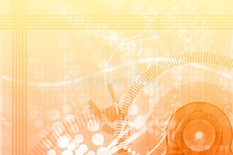 абстрактный шаблон померанца потехи афиши предпосылки иллюстрация вектора