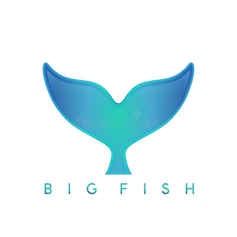 Абстрактный шаблон дизайна вектора кита бесплатная иллюстрация
