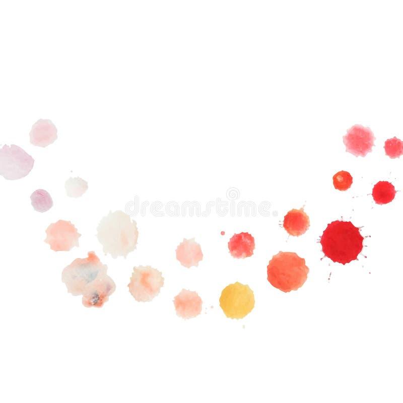 Абстрактный шаблон цвета воды иллюстрация вектора