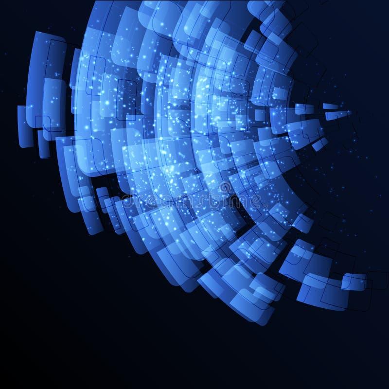 Абстрактный шаблон иллюстрация штока