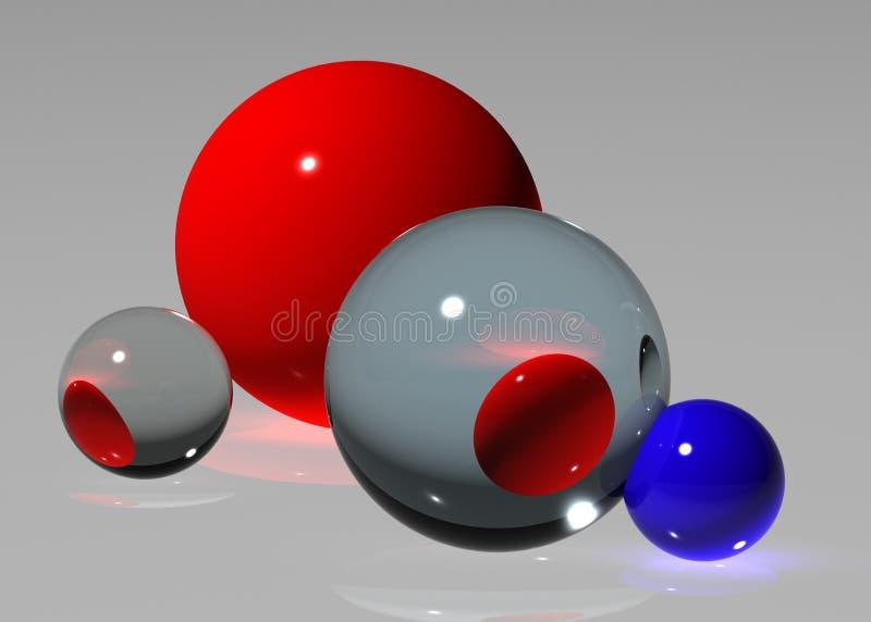 абстрактный шарик стоковые изображения rf