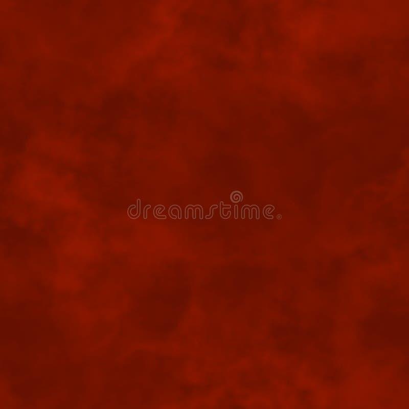 абстрактный дым Темный - красные облака пасмурная картина Расплывчатый газ пар туман Туманная предпосылка текстуры веревочка иллю бесплатная иллюстрация