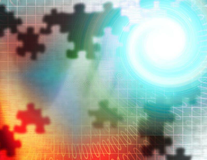 абстрактный binary иллюстрация вектора