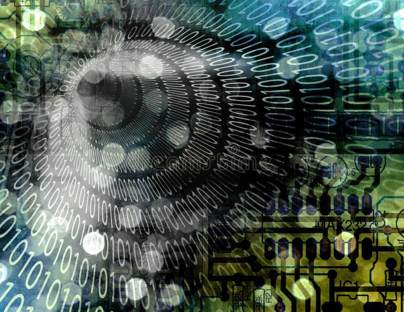 абстрактный binary бесплатная иллюстрация