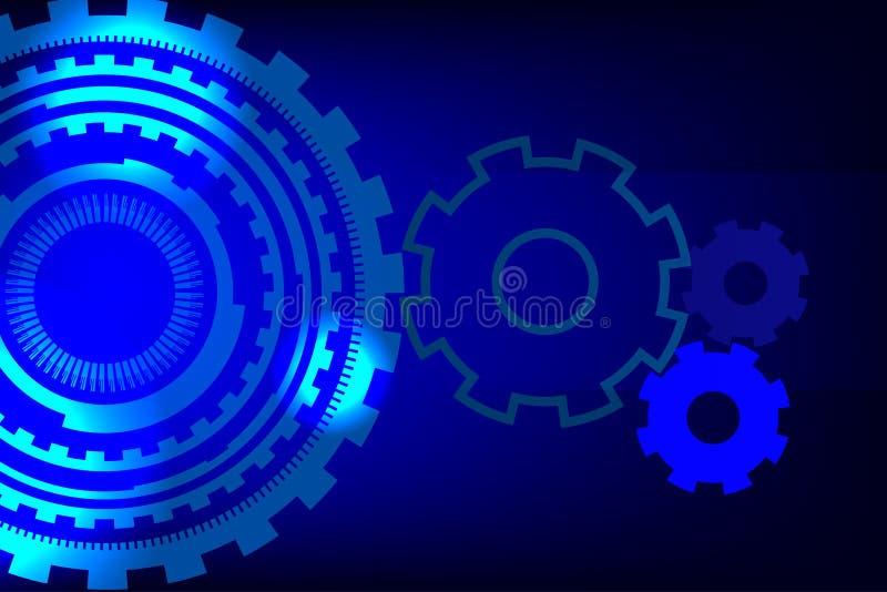 Абстрактный gearwheel стоковое фото rf