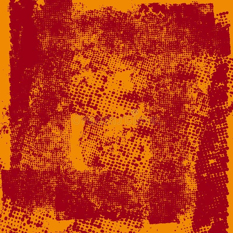 абстрактный halftone предпосылки иллюстрация вектора