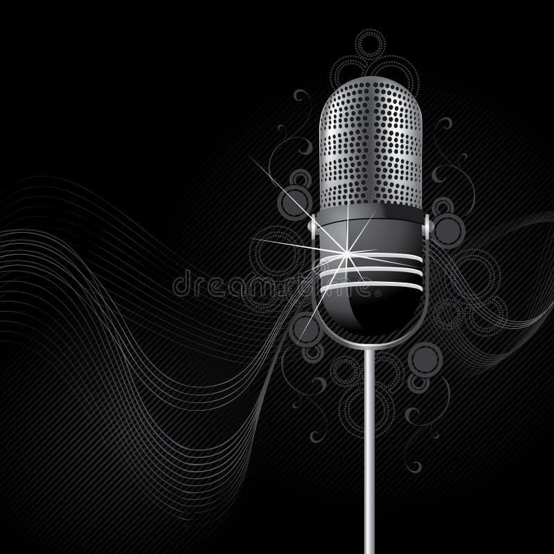 абстрактный mic иллюстрация штока