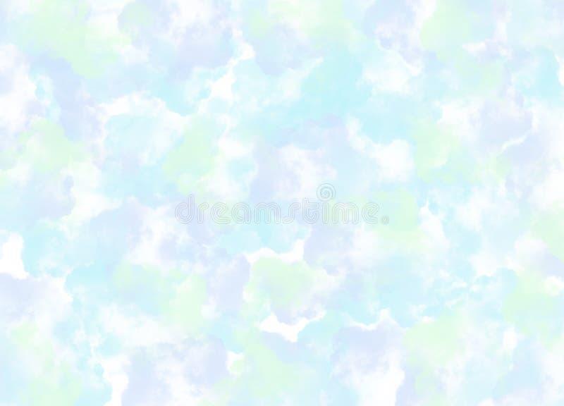 Абстрактный Multi цвет кисти штрихует предпосылку бесплатная иллюстрация
