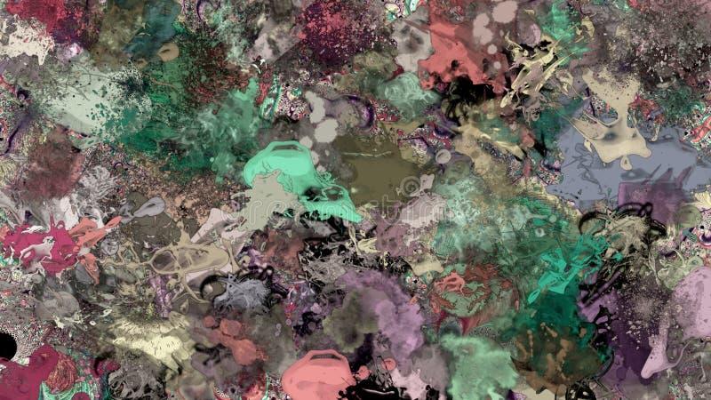 абстрактный splatter краски предпосылки стоковая фотография