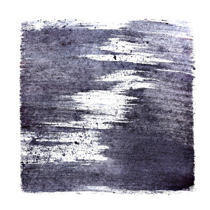 Абстрактный stenciled квадрат иллюстрация штока
