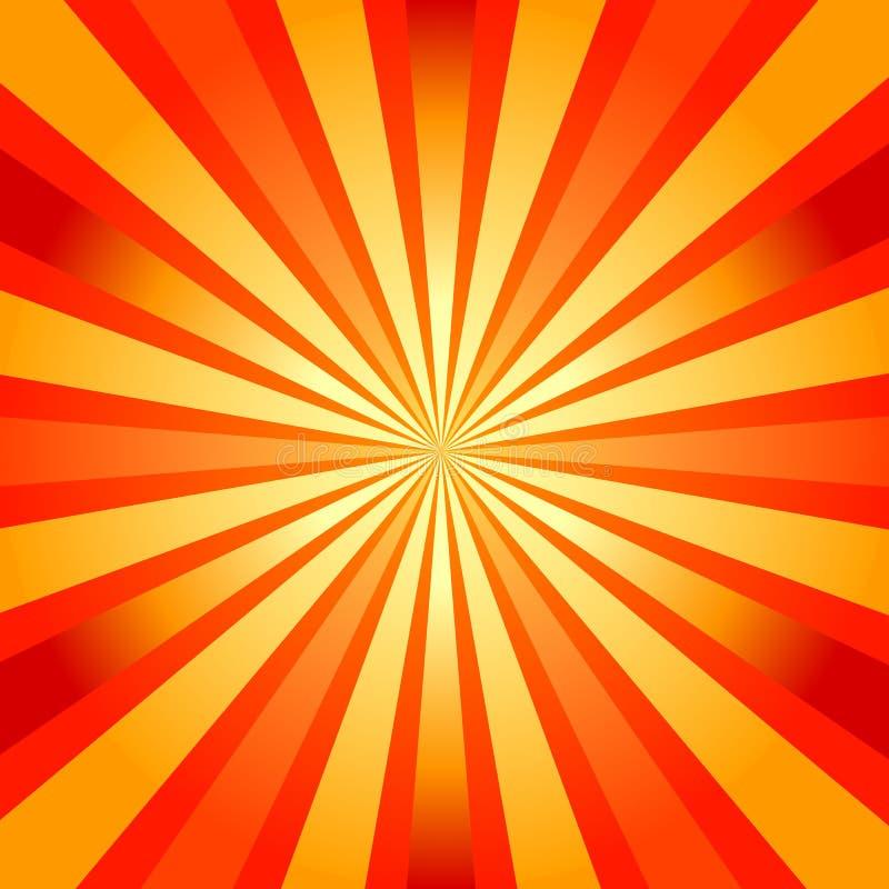 абстрактный sunburst предпосылки бесплатная иллюстрация
