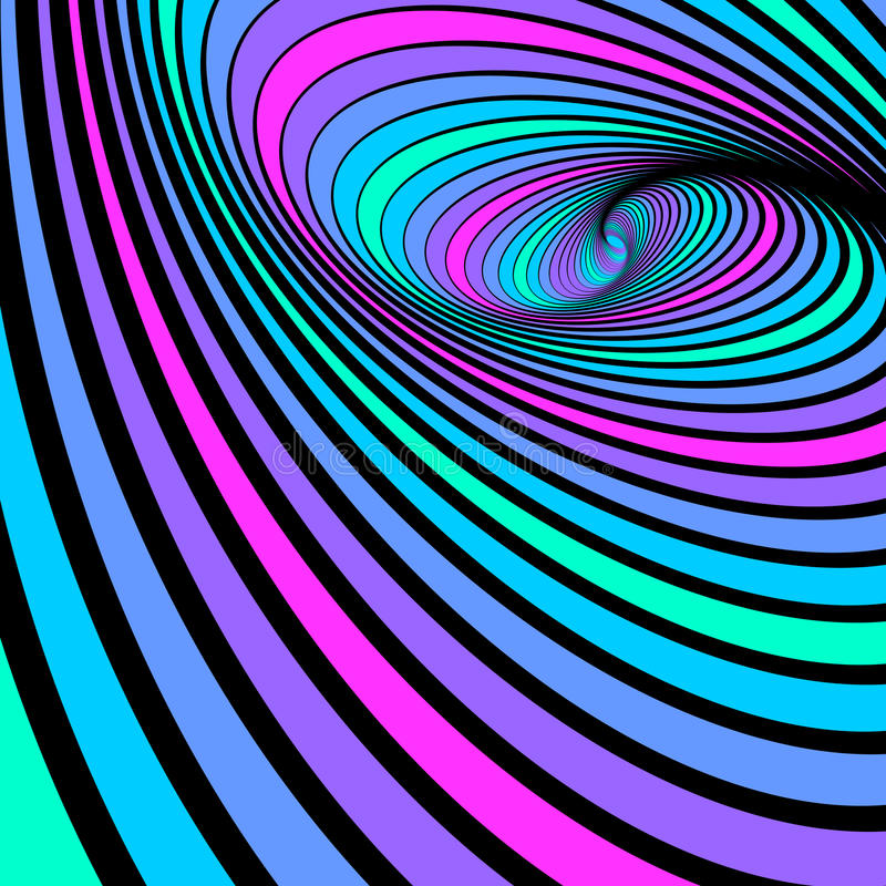 абстрактный whirl спирали движения предпосылки иллюстрация вектора