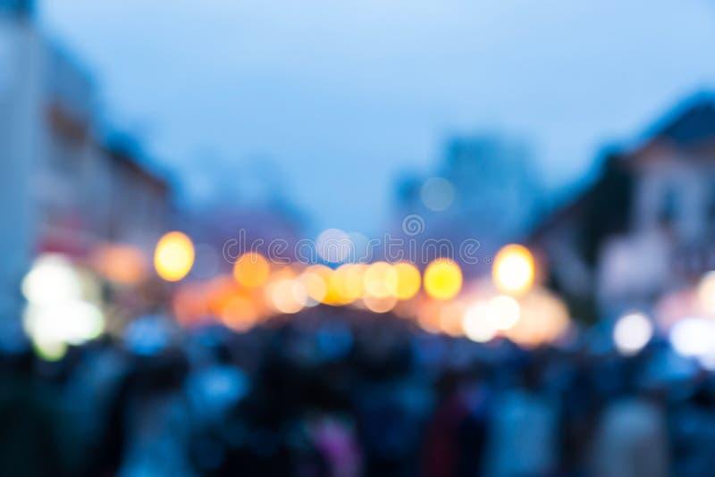 Абстрактным предпосылка фестиваля запачканная светом стоковые изображения