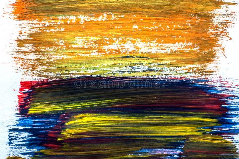 Абстракция для предпосылки, рисуя с рамкой других цветов в целом стоковые фотографии rf