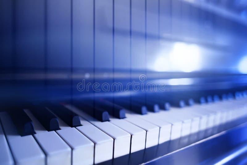 Абстракция с клавиатурой рояля стоковое изображение