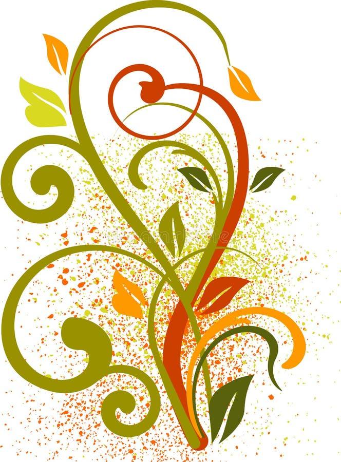 абстракция флористическая иллюстрация штока