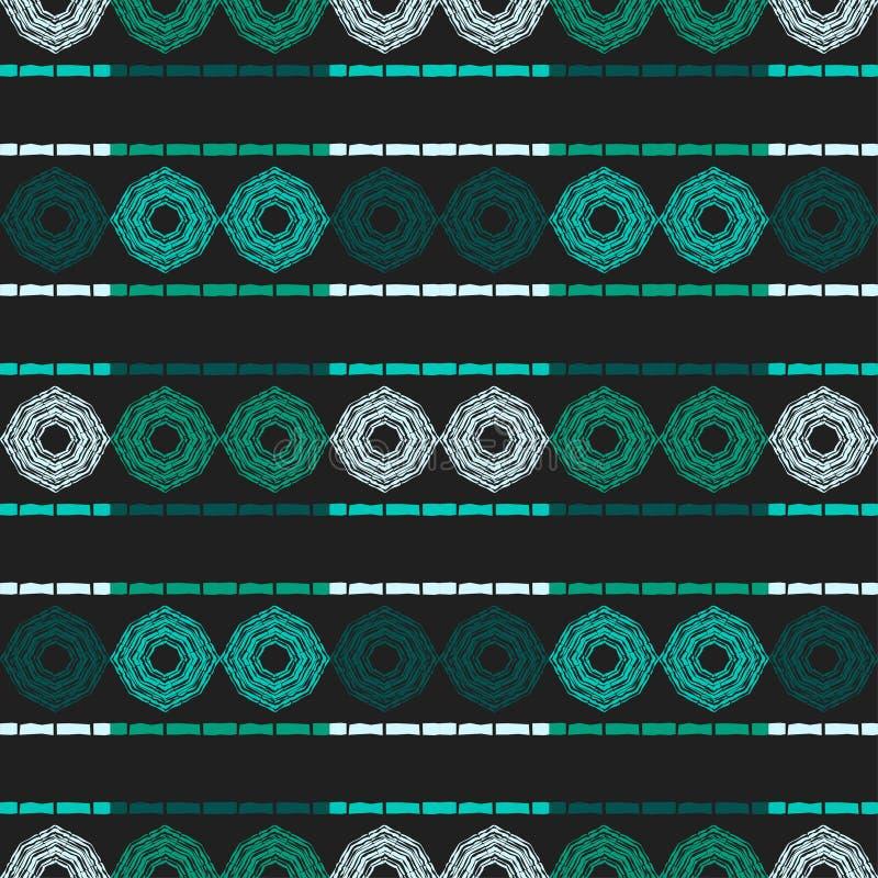 Ethnic boho seamless pattern. royalty free stock photography