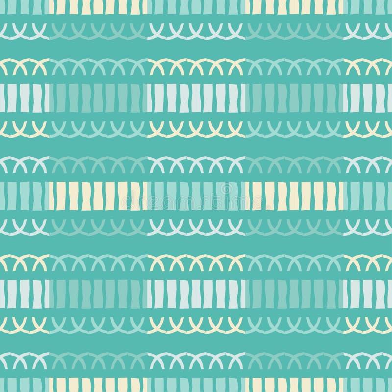Ethnic boho seamless pattern. stock image