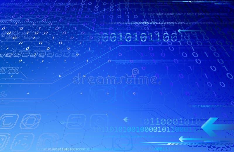 Абстракция Tecnology иллюстрация вектора
