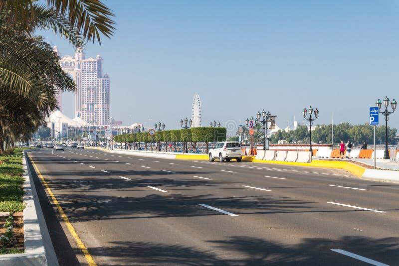 Абу-Даби, ОАЭ - 29-ое марта 2019 E стоковое изображение
