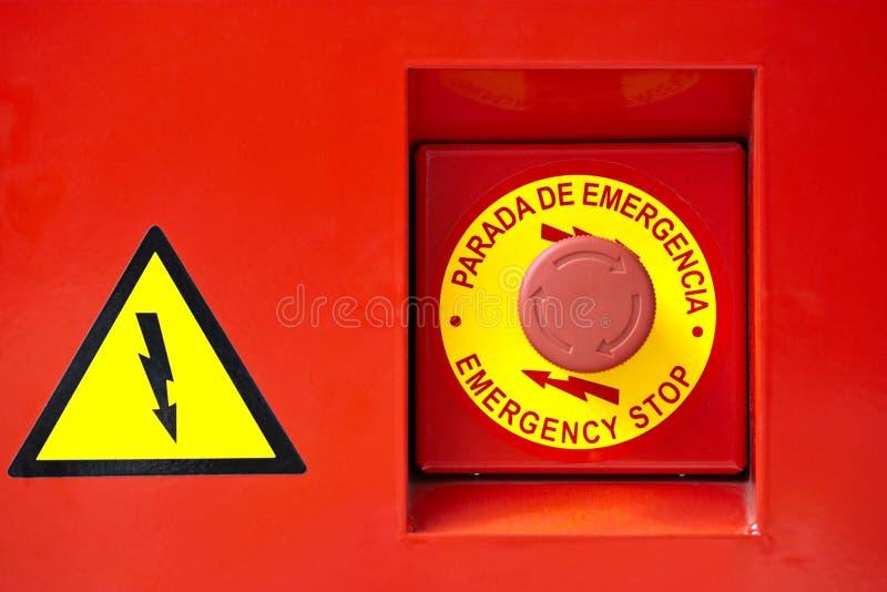 аварийная ситуация кнопки стоковая фотография rf