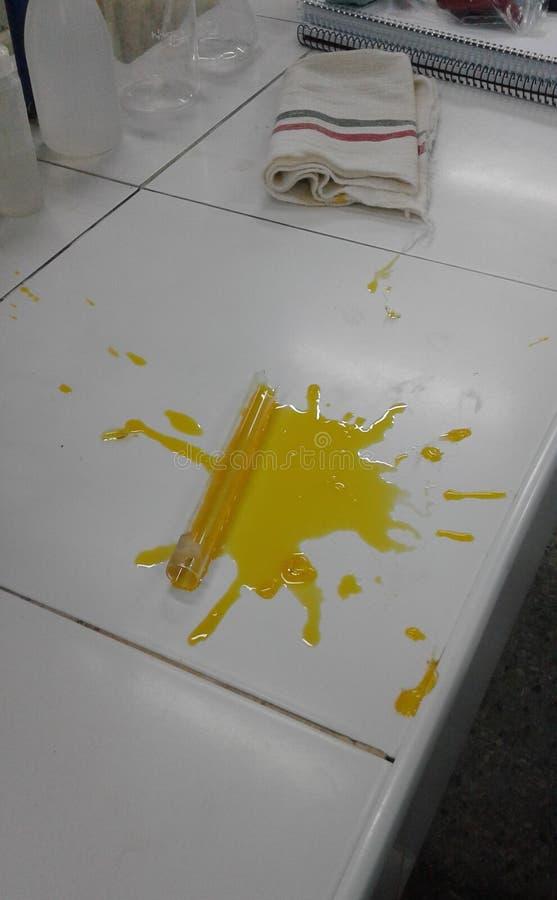 Авария лаборатории стоковая фотография rf