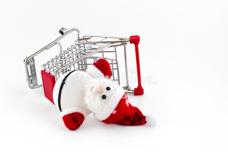 Авария Санта Клауса стоковое изображение rf