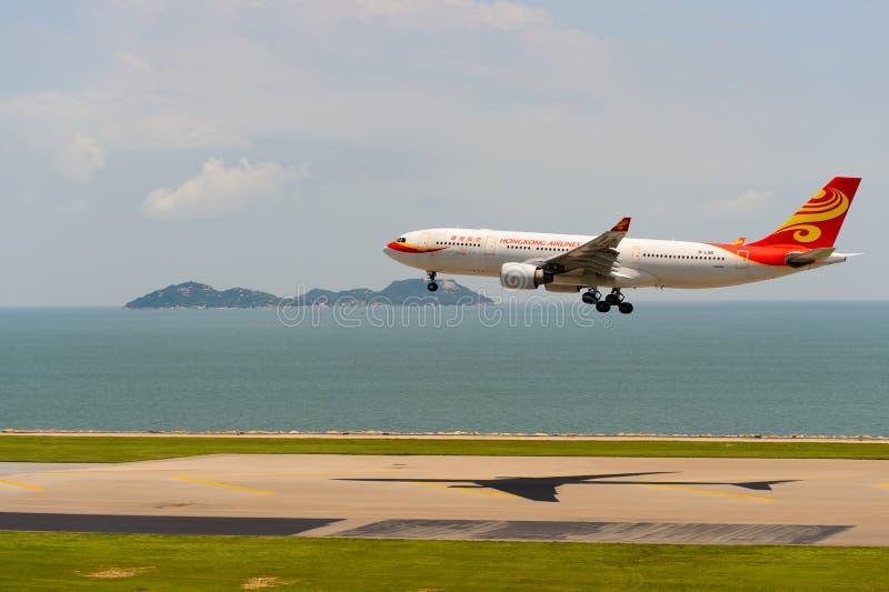 Авиакомпании Гонконга стоковая фотография