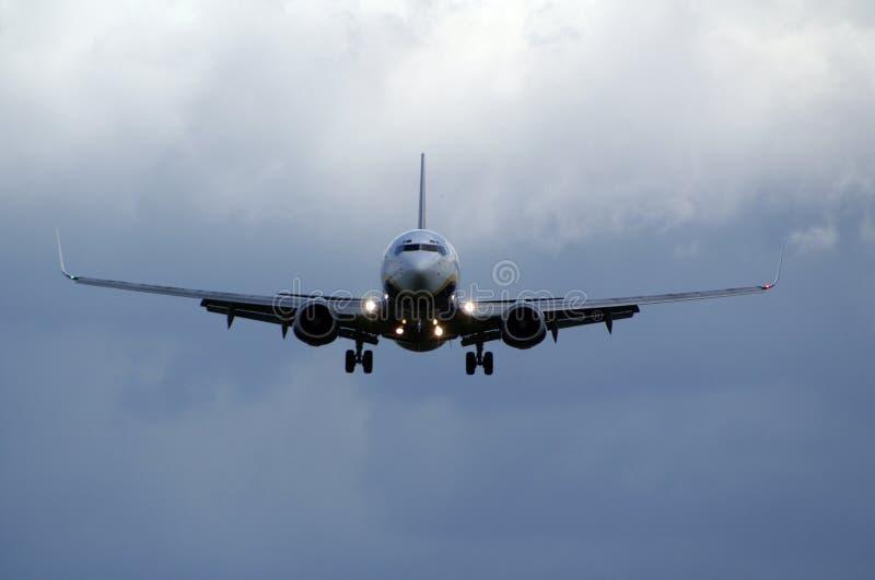 авиалайнер стоковое фото