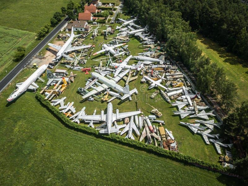 Авиапарк в Zruc близко Pilsen в чехии стоковое изображение rf