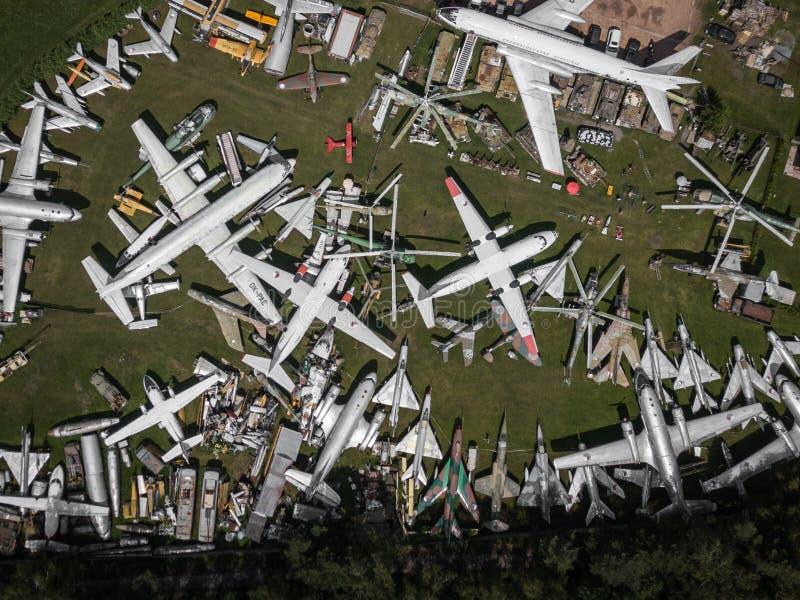 Авиапарк в Zruc близко Pilsen в чехии стоковое изображение