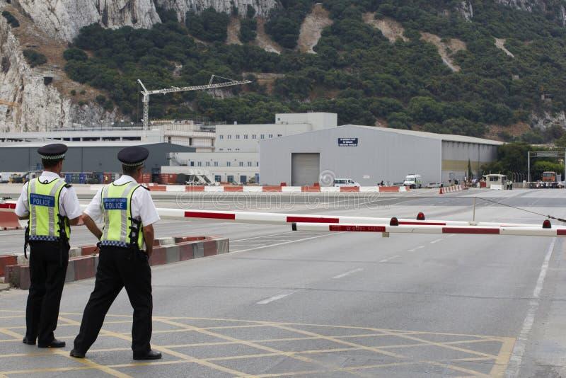 авиапорт Гибралтар стоковое фото rf