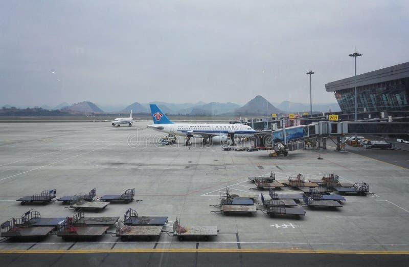 Авиапорт города Guiyang стоковые фото