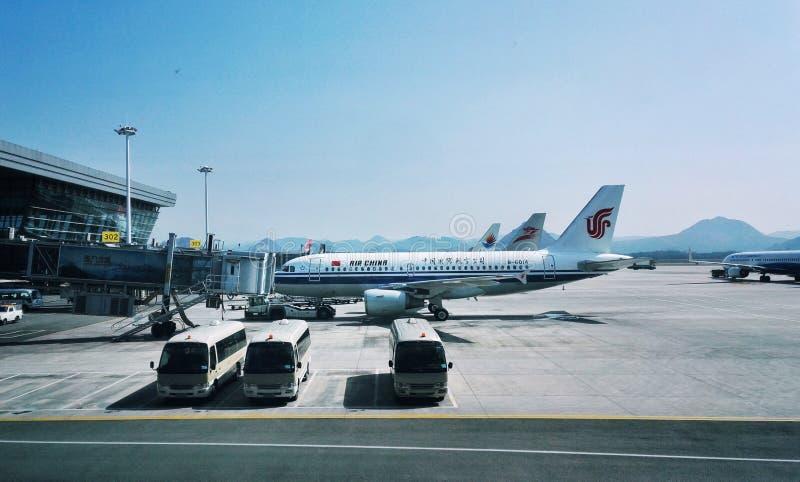 Авиапорт 2 города Guiyang стоковые фото