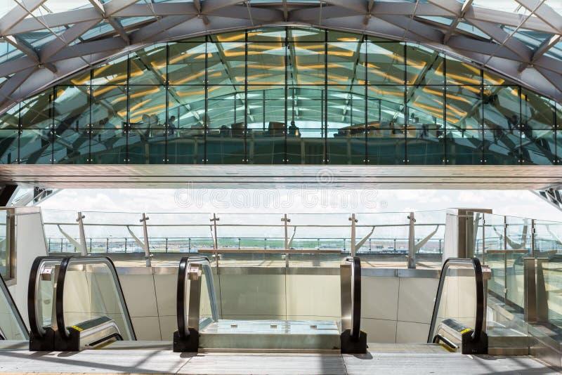 Авиапорт Денвера стоковое фото
