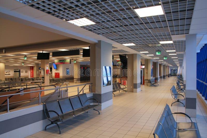 Авиапорт Катовице, Польша стоковые фотографии rf