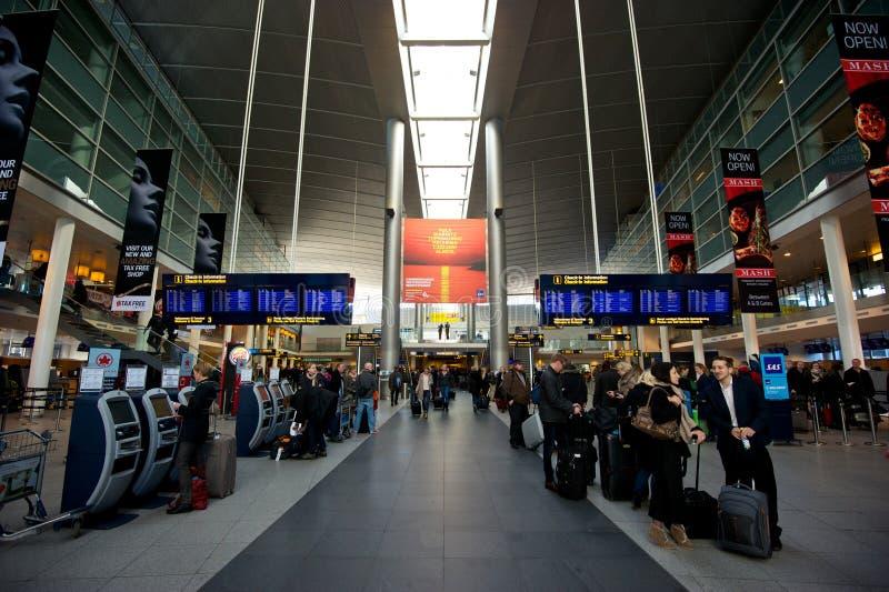 Авиапорт Копенгагена стоковое фото