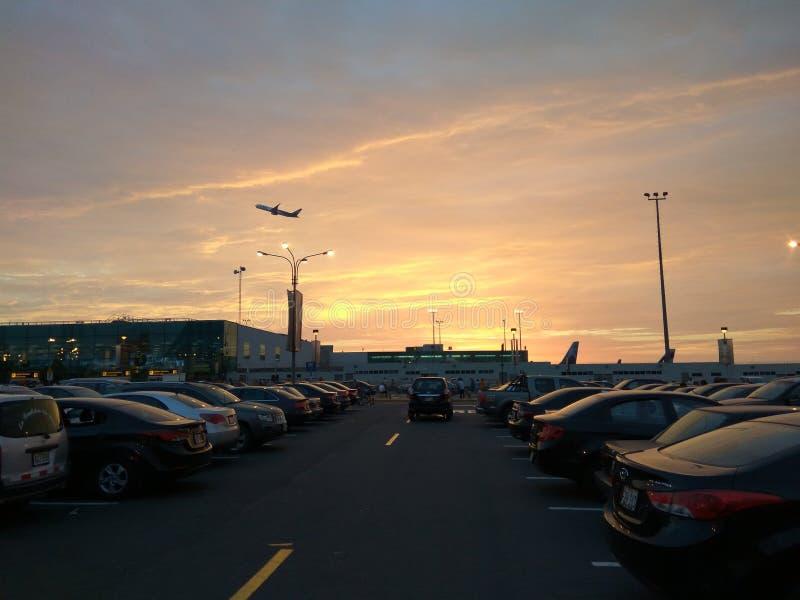 Авиапорт Лимы стоковое фото rf